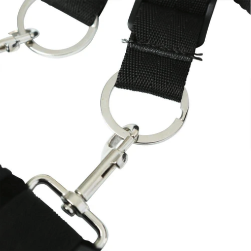 Sportsheets Under the Bed Restraint System clip and loop detail