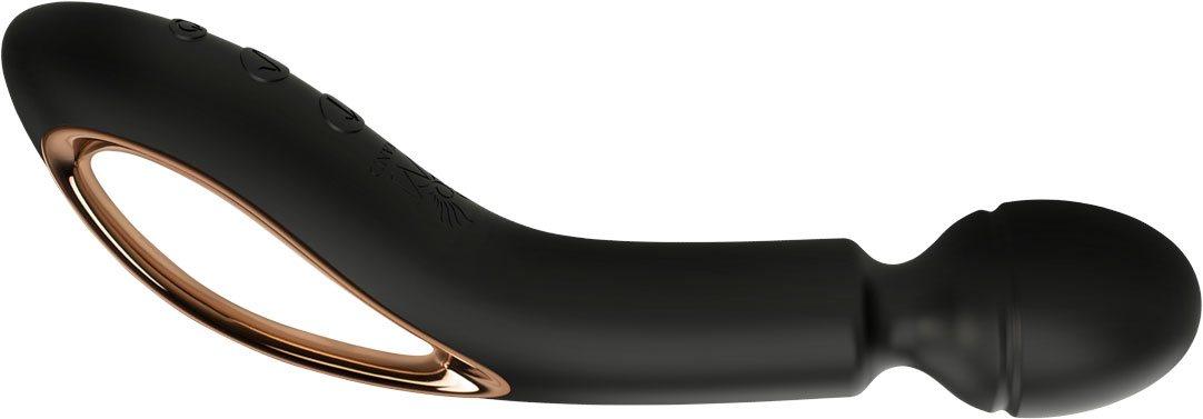 O-Wand curved vibrator