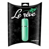 Pipedream Products Le Rve 3-Speed Bullet - Green - A discreet but powerful bullet vibrator