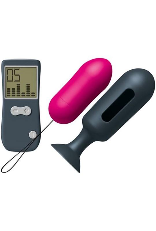 Marc Dorcel Secret Genius Vibe Remote Control Butt Plug - A small, remote-controlled vibrating anal plug.