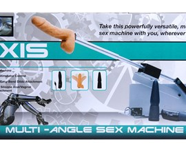 Love Botz Axis Multi-angle Sex Machine - A thrilling sex machine with powerful thrusting motions