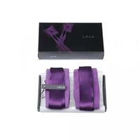 LELO ETHEREA Silk Cuffs - Delicately woven silk restraints for couples.