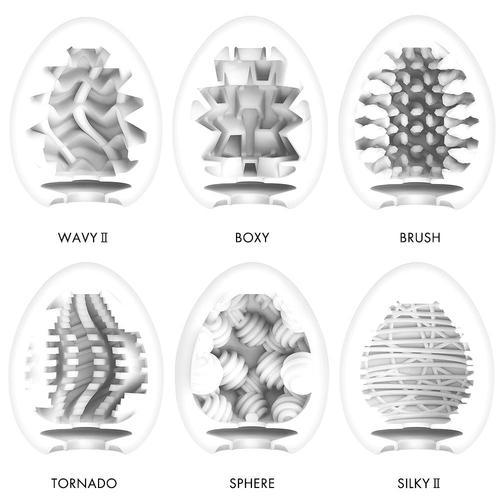 Tenga male masturbation sleeve eggs internal design