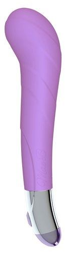 Mae B Lovely Vibes G-Spot Soft Touch Vibrator - A smooth, sculpted vibrator for women, designed for g-spot stimulation.