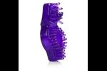 California Exotic Super Stretch Stimulator Sleeve Dual Noduled Purple - Erection enhancement ring.