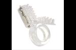 California Exotic Micro-Max Vibro Tongue - Vibrating erection enhancement ring.
