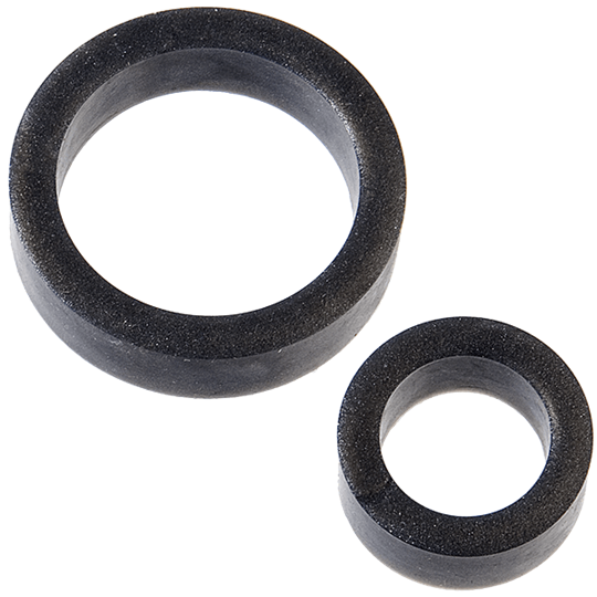 Doc Johnson Platinum Premium Silicone - The C-Rings -  A pleasurable cock ring combo pack with plenty of stretch
