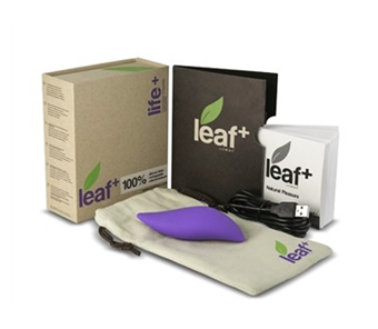 Leaf Life+ - A stylish, seamless vibrator designed to fit perfectly in the palm of your hand.