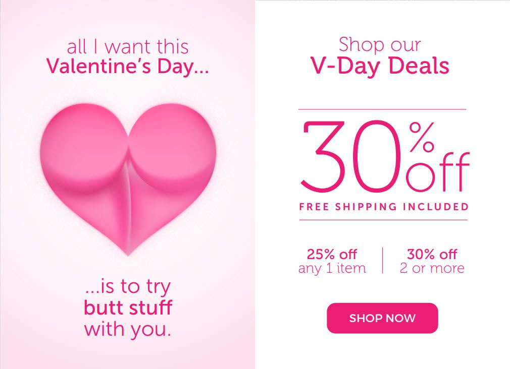 All The Deals Check Out Valentine S Day Sales On Sex Toys From Our