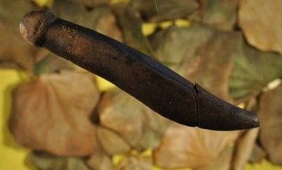 phallic object from 4,000 to 6,000 BCE carved from antler bone, found in Sweden