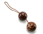 California Exotic Leopard Duotone Balls - A PC exerciser complete with stimulating pleasure.