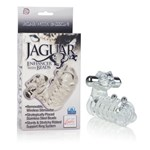 California Exotic Jaguar Enhancer with Beads - Erection enhancement ring.