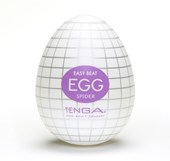 TENGA EGG SPIDER - A soft, pliable male pleasure sleeve that is uniquely packaged in an egg.