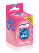 Durex Play Vibrations Ring - A cock ring that vibrates to offer both partners exciting new sensations.