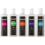 Doc Johnson Mood Lubes 5 Pack - Five premium water-based and silicone formula lubricants.
