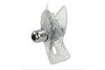 California Exotic Fluttering Dove Enhancer - Vibrating erection enhancement ring.