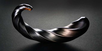 Fucking Sculptures Corkscrew - A curved glass dildo to stimulate your most sensitive areas