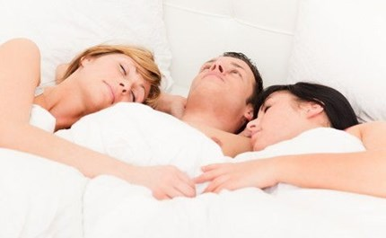 what was your first threesome like