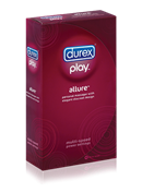 Durex Play Allure Intimate Massager - A sleek, small and elegant personal massager and vibrator for women.