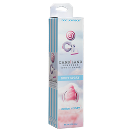 CANDiLAND SENSUALS - Body Spray - Cotton Candy - A vegan-friendly body spray with a sweet flavor.