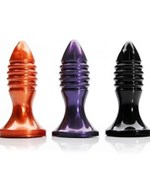 Tantus Zing - A bulbous anal plug with a flared base and ribbed for extra pleasure!