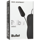 Doc Johnson iVibe Select - iBullet - Black -  A remote-controlled clitoral vibrator.
