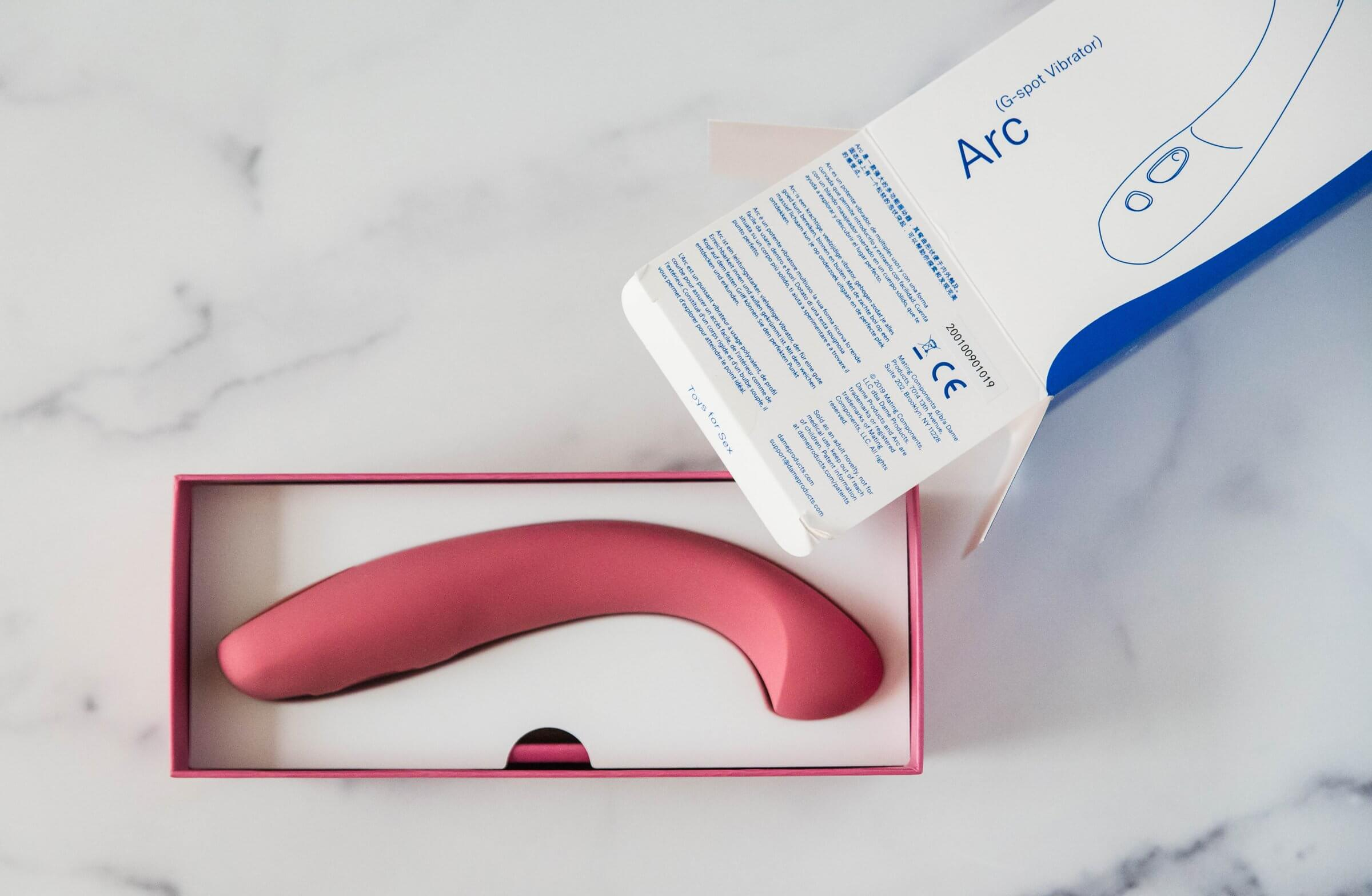 Dame Arc in packaging box