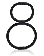 California Exotic Double Helix Quick Release - Dual support erection enhancement ring.