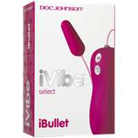 Doc Johnson iVibe Select - iBullet - Pink - A remote-controlled clitoral vibrator.