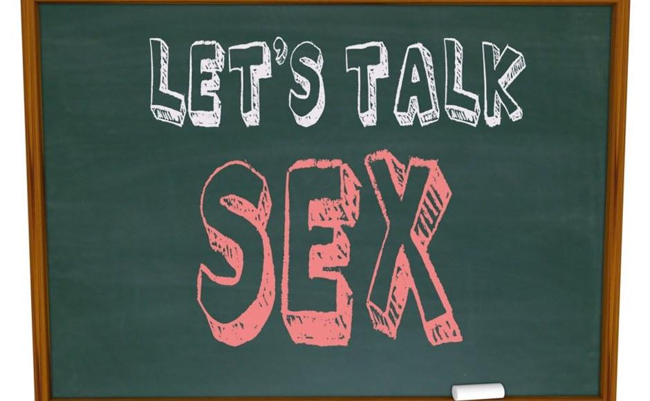 Lets talk sex on a chalkboard