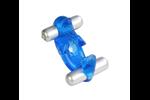 California Exotic Triple Orgasm Erection Enhancer - Soft and stretchy TPR rubber enhancer.