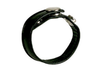 California Exotic Leather 3 Snap Ring - Leather multi-purpose ring.