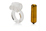 California Exotic Extreme Pure Gold - Love Dome Couples Enhancer - Vibrating erection enhancement ring.