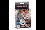 California Exotic Double Rock Ring - Vibrating erection enhancement ring.