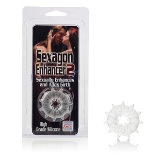 California Exotic Sexagon Enhancer 2 - Erection enhancer ring.