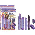 Nasstoys Purple Carnal Collection - Set of various sex toys.