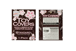California Exotic Toy Covers Single Pack Standard - Non-lubricated protective vibrator sleeve.
