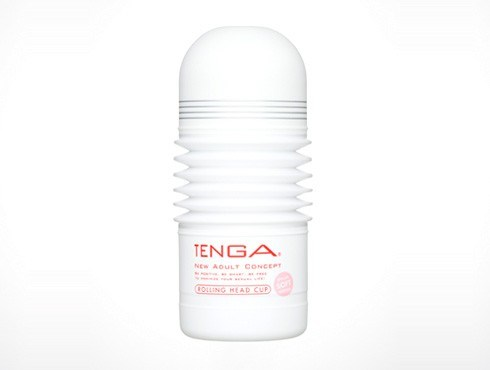 TENGA ROLLING HEAD CUP (SOFT) - A male masturbator that provides an ultra-soft, wrap-around sensation.