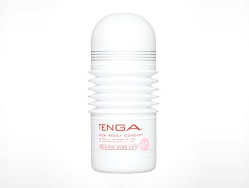TENGA ROLLING HEAD CUP (SOFT) - A male masturbator that provides an ultra-soft, wrap-around sensation.
