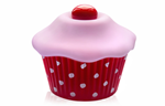 Shiri Zinn Cupcake Vibrator - A sweet little vibrator that fits in the palm of your hand.