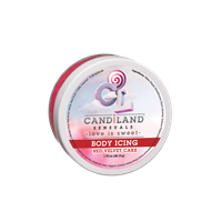 CANDiLAND SENSUALS - Body Icing - Red Velvet Cake - A sensual body icing to heighten your senses.
