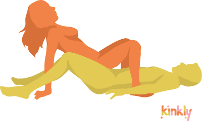 """Crab Sex Position: The penetrating partner lies flat on the ground. The receiving partner gets into a """"crabwalk"""" position on top of their partner to lower onto them for penetration."""