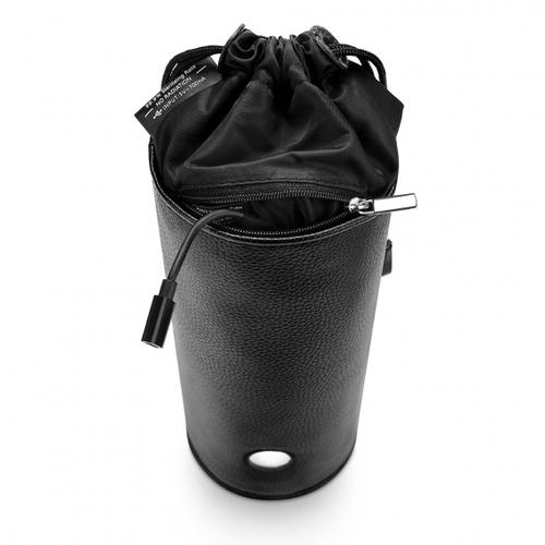 b-Vibe UV Sterilizer Pouch with cord hanging out