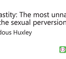 Chastity: The most