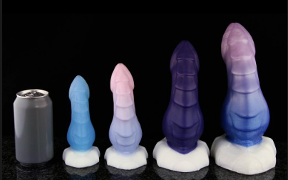 Kelvin the Ice Dragon - Kelvin the Ice Dragon is a dildo produced by Bad Dragon.
