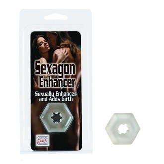 California Exotic Sexagon Enhancer - Erection enhancement ring.