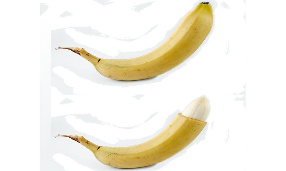 Banana peel handjob