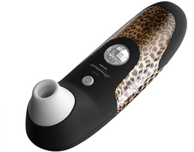 Womanizer W100 - A clitoral stimulator with a new way of doing things.