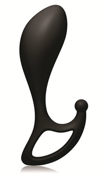 BMS Factory Lux Lx2 Prostate Massager - A smooth, silicone prostate massager designed for anal penetration and perineum stimulation.