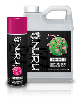 Wet Lubricants - NURU - A massage gel made with natural ingredients.